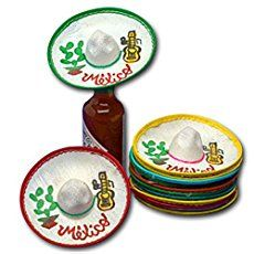 Mini Mexico Sombreros (Dozen) by JDProvisions