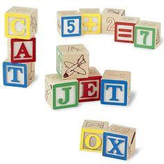My ABC Blocks The Most Complete 50Pcs Alphabets, Numbers ... http://www.amazon.com/dp/B00UP2L8FY/ref=cm_sw_r_pi_dp_g6gwxb1JJXRQB
