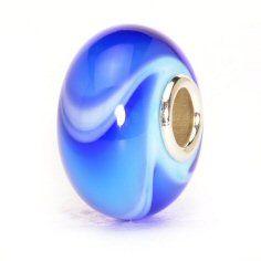 Troll beads beige blue dot ooohhhh i like that pinterest troll