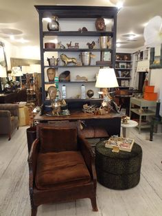 Vintage delights at Mecox NYC