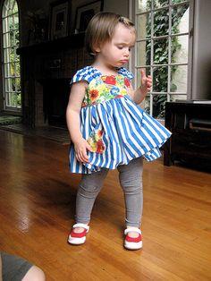 Free dress patterns for little girls.
