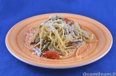 Pasta con alici e peperoncini verdi - Gnam Gnam