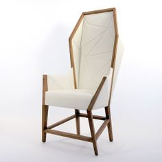 omg beautiful /// Bias Hooded High Back Lounge Chair & Purcell Living Bias Lounge Chairs | YLiving - 8-12 weeks