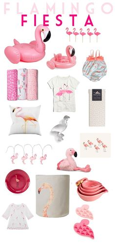 Flamingo Fiesta // Flamingo Favorites // Flamingo Party // Life as a Noel Blog