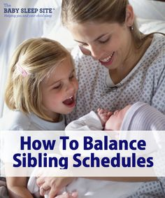 Lately, a lot of people are writing in about having a new baby (very exciting!) and wondering how to juggle more than one sleep schedule. This article will give you tips to maintain multiple children's schedules, when their ages vary (multiples have a different set of challenges, so that will be a subsequent part to come). Once you help your baby sleep through the night, and then your baby becomes a toddler, many families decide to add another baby into the mix. If you haven't, you might want to read the first part in this series, Do you have another child after a horrible sleeper? At each stage, the challenges are different, because a newborn's sleep needs are very different than that of an 8 month old, for example. Balancing Sibling Schedules: Your Newborn's Schedule and Your Toddler's Schedules When you first bring home the new baby, this is, ironically, probably one of the easier times, unless the new baby has colic or is otherwise more high-needs. Of course, this is only my