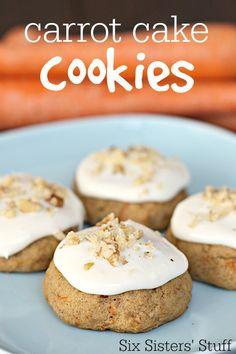 Six Sisters Carrot Cake Cookies Recipe