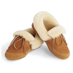The Androscoggin Sheepskin Slippers - Hammacher Schlemmer Sheepskin Slippers, Sheepskin Boots, Ugg Style Boots, Ugg Boots, Shearling Boots, Leather Boots, Shopping Catalogues, Doc Martens Boots, Vegan Boots