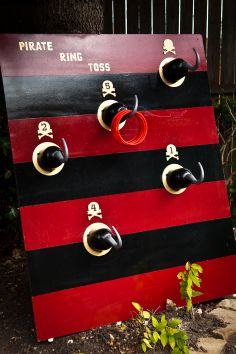 Pirate Hook Ring toss game