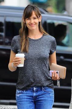 Jennifer Garner got a coffee on Tuesday in LA.