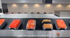 New Sushi-Themed Suitcase Covers Make Luggage Look Like Food on a Sushi-Go-Round