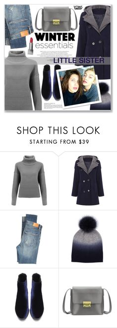 """""""YOINS"""" by nanawidia ❤ liked on Polyvore featuring Citizens of Humanity, Sofiacashmere and Burberry"""