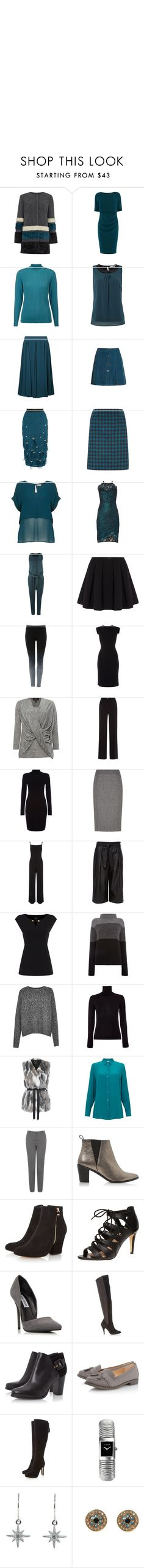 """""""Untitled #3371"""" by luciana-boneca on Polyvore featuring Pied a Terre, Coast, Eastex, La Fée Maraboutée, Jacques Vert, Superdry, Hobbs, Label Lab, Lipsy and Pennyblack"""