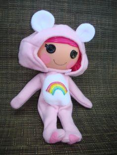 Lalaloopsy Doll Clothes Cheer Bear Care by nanashousecreations, $15.50
