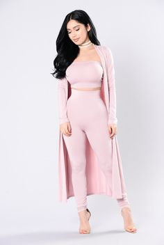 """- Available In Black and Pink - Pair with """"Come Get it Bae Cardigan and Legging"""" - Draped Open Front - Long Sleeve - Longline Silhoutte - 94% Rayon 6% Spandex"""