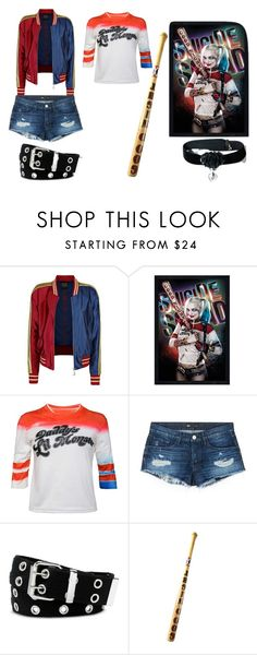 """""""Harley Quinn"""" by dream-catcher-wolf-girl ❤ liked on Polyvore featuring 3x1 and Relic"""
