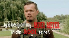 Afrikaanse sê-goedjies : Jy is besig om my Moer meter in die rooi te ref. Human Rights Day, Afrikaanse Quotes, First Language, Laugh At Yourself, Funny Quotes About Life, Picture Quotes, Favorite Quotes, Positive Quotes, Me Quotes