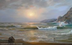 http://www.russianfineart.com/catalog/prod?productid=26865 Warm Evening - oil canvas Russian Painter: Sergey Koval