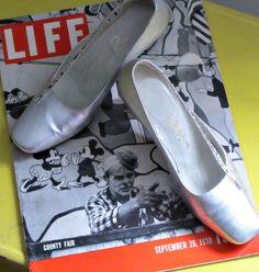 Roger Vivier Heel Hammered Silver Vintage Shoe