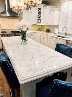 Kitchen Reno, Kitchen Island, New Countertops, Beautiful Kitchens, Future, Home Decor, Island Kitchen, Future Tense, Decoration Home