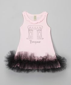 Look what I found on Baby Pink 'Bonjour' Tutu Dress - Infant, Toddler & Girls by Bourbon Street Boutique Infant Toddler, Toddler Girls, Tutu, Bourbon Street, Paris Fashion, Pink, Boutique, Baby, Dresses