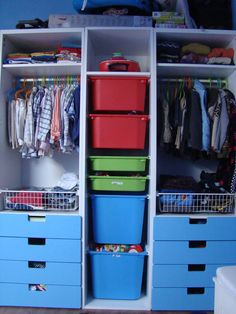 Our Under 100 IKEA Hack Closet Makeover Ikea hack September and