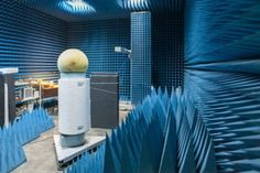This is the radio-frequency anechoic chamber used for the experiment. CREDIT: ITMO University