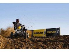 New 2014 Can-Am DS 450™ X mx ATVs For Sale in Florida. 2014 CAN-AM DS 450™ X mx, DS 450 X mx The DS 450 X mx comes out of the box ready to race with shocks, tires, wheels and more designed to get you out in front of the pack. Now featuring FOX FLOAT X EVOL front shocks and FOX PODIUM X piggyback rear shocks for even better racing performance. Highlights - DS 450 X mx: + 2-inch double A-arms with adjustable caster and camber give a 50 in. front stance FOX FLOAT X EVOL front shocks with…