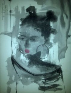 "Saatchi Online Artist abiodun ogunfowodu; Painting, ""untitled"" #art"