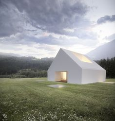House Em Leira - Aires Mateus by Riccardo Desiderò, via Behance