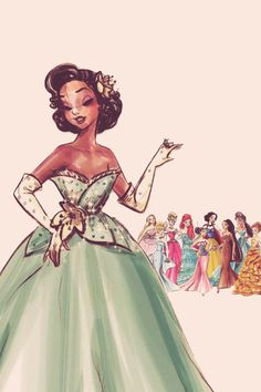 We need more African American princesses from children's movies today. Nothing is wrong with shinning the light on black women for little girls.