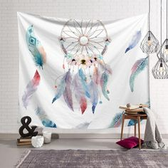 Made with 100% Polyester Non fading high quality inks Rope to hang not provided Soft and easy to handle