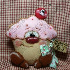 Primitive Raggedy Giblet Turkey Ornie Doll Paper Pattern #194