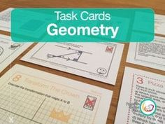 Geometry Problems   Task Cards   24 Questions 4 Differentiations 96 Cards by LittleStreams - Teaching Resources - Tes
