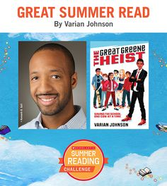 Looking for great summer reads for kids? Here's a recommendation by Varian Johnson! Click through or visit scholastic.com/summer for more. #summerreading