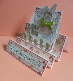 Scrapology  April / May card challenge. DT cards using Freebies.