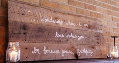 Do It Yourself Rustic Wall Art