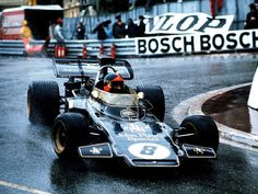 Emerson Fittipaldi -Monaco 1972 Lotus 72D Jhon Player Special