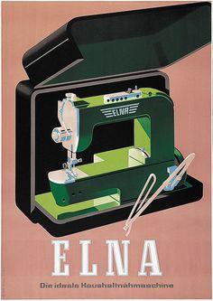 Pacifica Island Art Elna - La Machine Coudre de Mnage Idale (Elna - The Ideal Household Sewing Machine) - Master Print