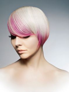 pink hair color 2013