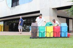Lixo orgânico, inorgânico e colorido #t052015upis