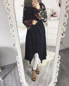 Islamic Fashion, Muslim Fashion, Modest Fashion, Hijab Fashion, Fashion Outfits, Fashion Ideas, Hijab Wear, Hijab Dress, Hijab Outfit