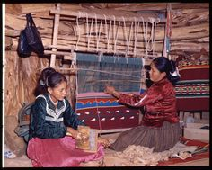 This is the type of scene that was typical of Navajo women weaving rugs, when I went to the reservation as a little girl. I was fascinated and the artistry is just as incredible today, as it was then. Fortunately, the looms are easier and better to work with. I fell in love with the Navajo at a young age. I am blessed.