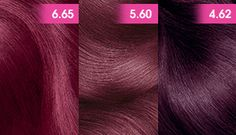 Garnier Olia Garnet Red Used The 4 62 Over Hi Color Magenta Hair
