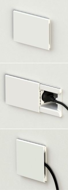 Hide: the socket that hides the plug. #productdesign #id #industrial #design #product #industrialdesign