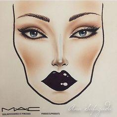 Facechart created by @anasafazada ✨ Tag Us #FaceCharts @FaceCharts to be Featured ✨ ____________________________________________  #MakeupTalk #amazing #makeup #facecharts #facechart #mua #makeupartist #yellow #mua #mac #macmakeup #darklipstick #makeuptutorial #myfacechartcommunity #MOTD #macgirls #macboys #trendy #trend #macpro #draw #maccosmetics #makeuptime #macbrushes