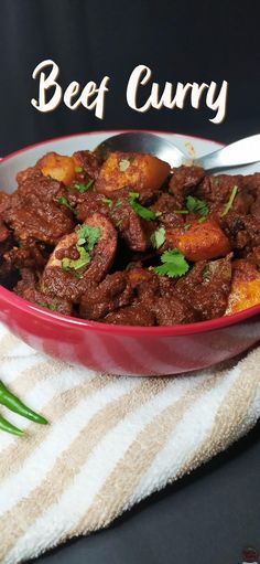 Recipe Videos, Food Videos, Beef Curry, Ethnic Food, Indian Food Recipes, Side Dishes, Dinner Recipes, African, Meals