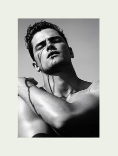 A Stunning Sean OPry Poses for James Houston image sean002
