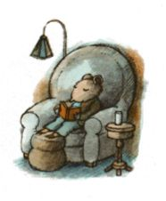 """Books to the ceiling, Books to the sky, My pile of books is a mile high. I'll have a long beard by the time I read them."""" ― Arnold Lobel (Picture from Mouse Soup, Arnold Lobel) Arnold Lobel, Children's Book Illustration, Book Illustrations, Book Characters, I Love Books, Book Making, Character Concept, Cute Art, Book Worms"""