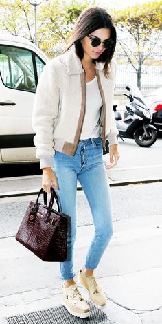 How to Get Away With Wearing Jeans Everywhere: A Celebrity Guide via @WhoWhatWear Who What Wear waysify