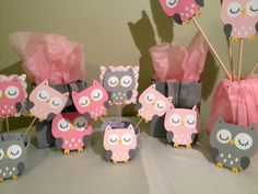 Owl Baby Shower Decorations Package Owl Baby Shower by wittypaper